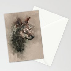 European Wolf Stationery Cards