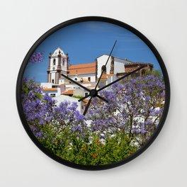 Jacaranda Silves Wall Clock