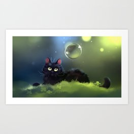 Early morning magic Art Print