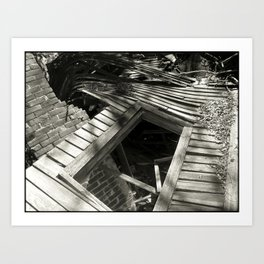 You Can Never Really Go Home Again Art Print