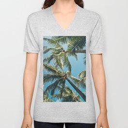 Kuau Palms Paia Maui Hawaii Unisex V-Neck