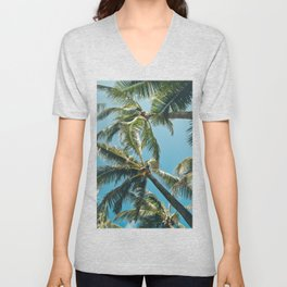 Kuau Palms Paia Maui Hawaii Unisex V-Neck