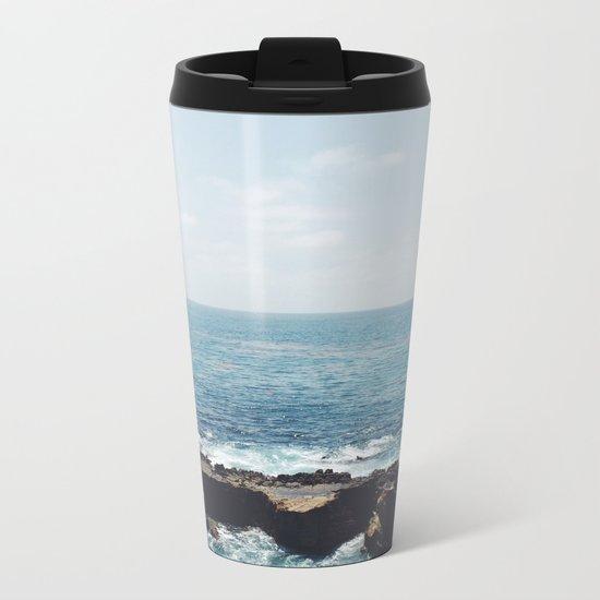 Ocean Rock Metal Travel Mug