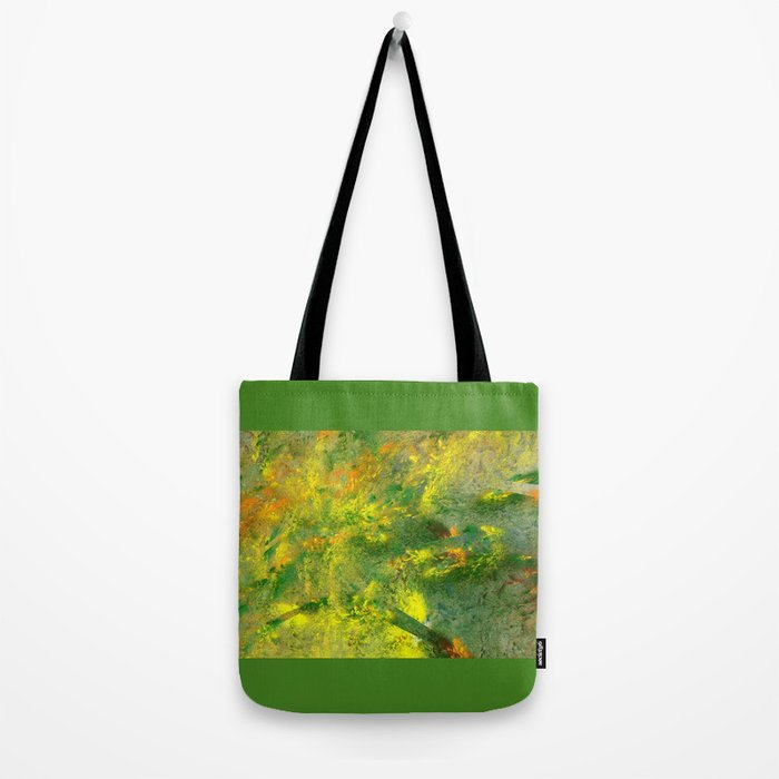 easy green and a live Tote Bag