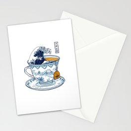 The Great Kanagawa Tea Stationery Cards