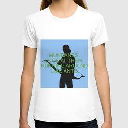 Alec Lightwood - Mundanes T-shirt