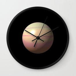 Lonely planet II Wall Clock
