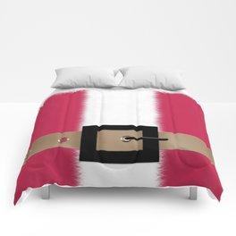 Christmas , Santa Claus , red Comforters