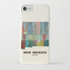new mexico map modern Slim Case iPhone 7