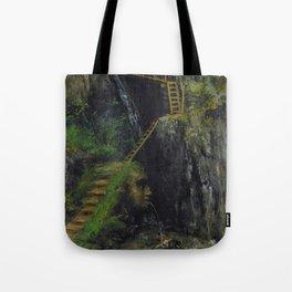 """Gustave Courbet """"Les Gorges des Saillon"""" Tote Bag"""