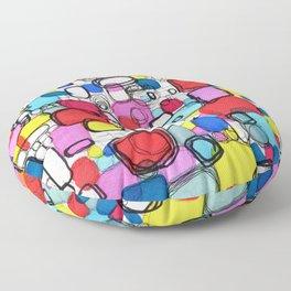 Playful Meditation 1 Floor Pillow