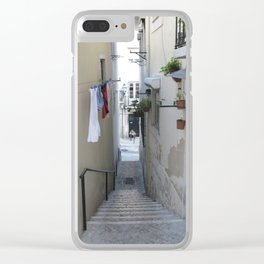 Alfama, Lisboa Clear iPhone Case