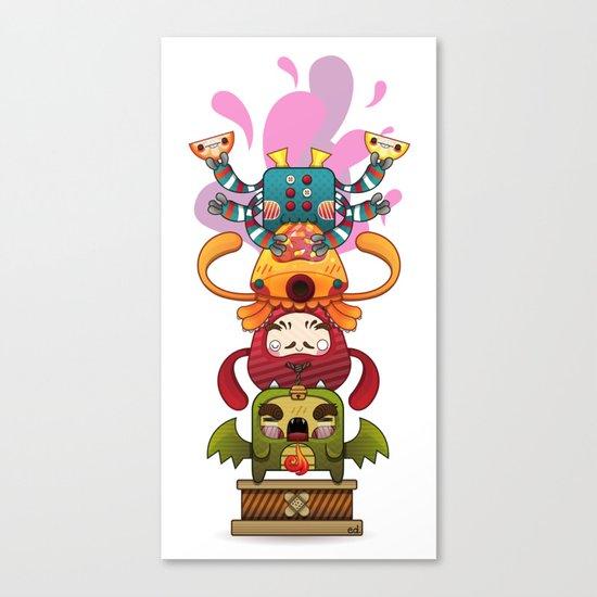 Monster´s Totem Canvas Print