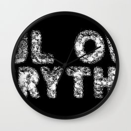 Soul Over Everything Wall Clock
