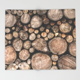 The Spirit of the Trees Throw Blanket