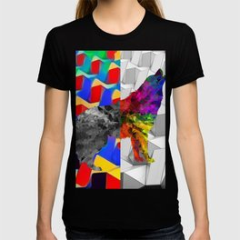 Arctic Howling Wolf T-shirt