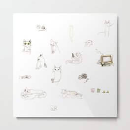 Cats For All Metal Print