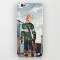 quidditch iPhone & iPod Skins featuring Quidditch by CaptBexx