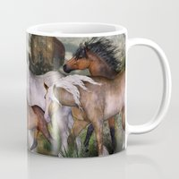 into the wild Mugs featuring Wild by Illu-Pic-A.T.Art