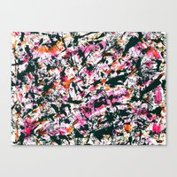 graffiti Canvas Prints featuring graffiti by gasponce