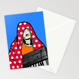 Röyksopp Forever Roy Lichtenstein Inspired Portrait 2 Stationery Cards
