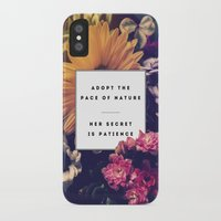 lee pace iPhone & iPod Cases featuring The Pace Of Nature by Galaxy Eyes