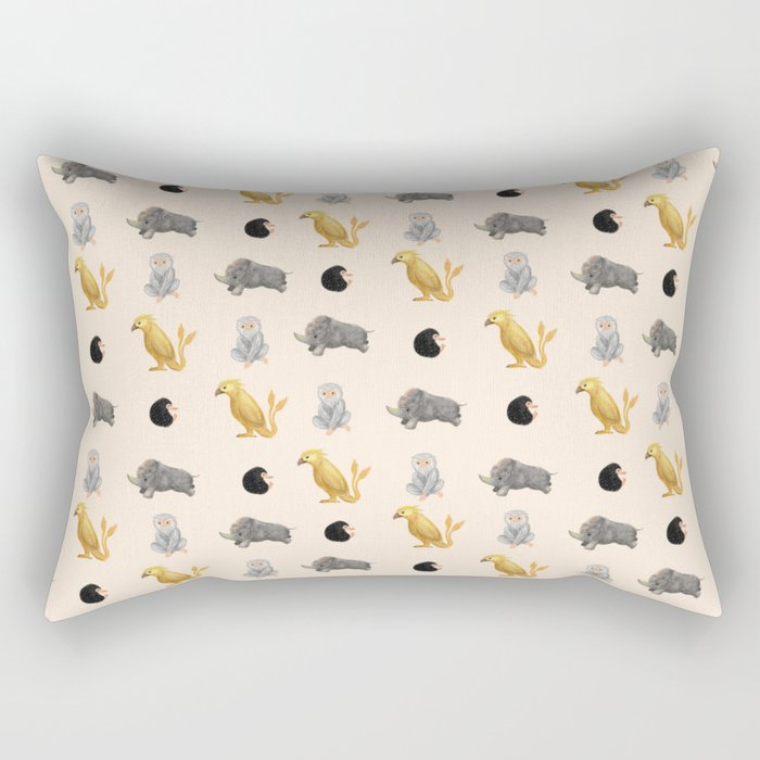 Those beasts are just fantastic. Rectangular Pillow