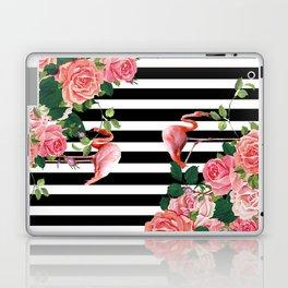tropical flamingo Laptop & iPad Skin