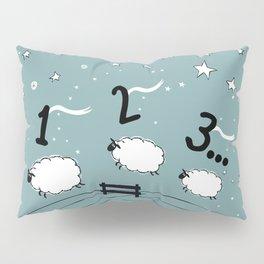 Counting Sheep I: 1 2 3 Counting Sheep Pillow Sham