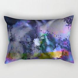 glitch cloud 6. Rectangular Pillow