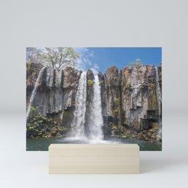 Cascada Los Amates, Santa Rosa, Guatemala Mini Art Print