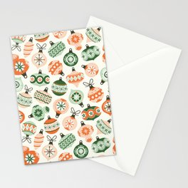 Vintage Ornaments Stationery Cards