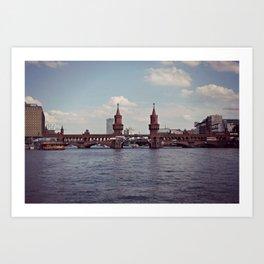 Berlin-Oberbaum Bridge Art Print