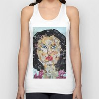 asian Tank Tops featuring ANGRY ASIAN  by ART OF JAN