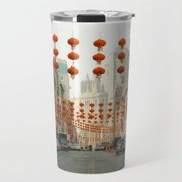 Chinatown, New York City Travel Mug