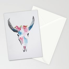 Skull Art Stationery Cards