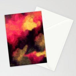 Cubism sky Stationery Cards
