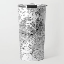 Sydney White Map Travel Mug