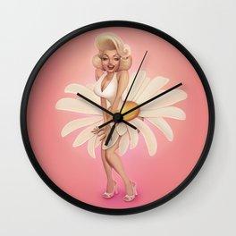 Daisy Monroe Wall Clock
