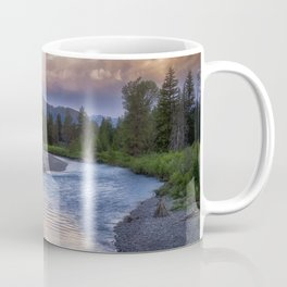 Morning on the Snake River - Grand Teton national Park Coffee Mug