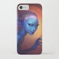 elf iPhone & iPod Cases featuring Elf by Amanda Kihlström