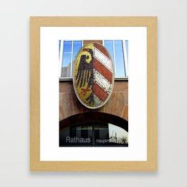 Nuremberg Small Coat of Arms Framed Art Print