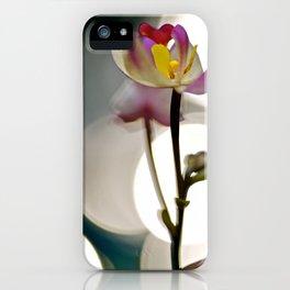 Spot Light Flower iPhone Case