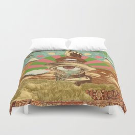 AFTERNOON PSYCHEDELIA Duvet Cover