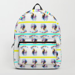 Medusa psychedelic pattern Backpack