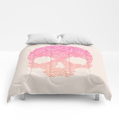 Labyrinthine Skull - Tropical Comforters