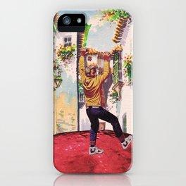 Hardy Moon iPhone Case
