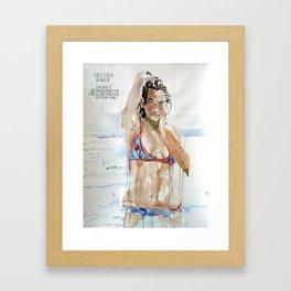 Melissa Baker Framed Art Print