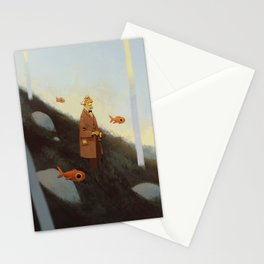 Mr. Albert Stationery Cards