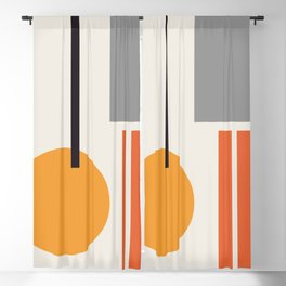 Mid Century 05 Blackout Curtain
